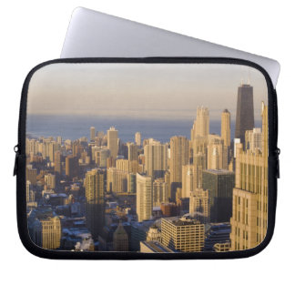 Chicago, Illinois, Skyline from the Sears Tower Laptop Computer Sleeves
