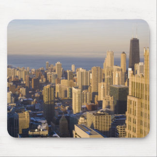 Chicago, Illinois, Skyline from the Sears Tower Mouse Pad