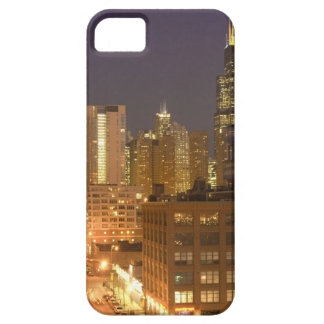 Chicago, Illinois, Skyline from West Loop at iPhone 5 Case