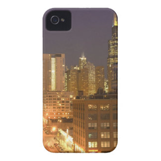 Chicago, Illinois, Skyline from West Loop at iPhone 4 Case-Mate Case