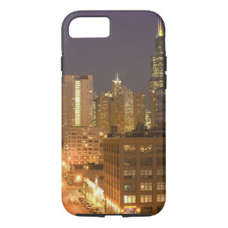 Chicago, Illinois, Skyline from West Loop at iPhone 8/7 Case