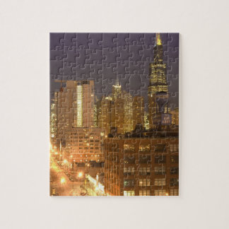 Chicago, Illinois, Skyline from West Loop at Jigsaw Puzzle
