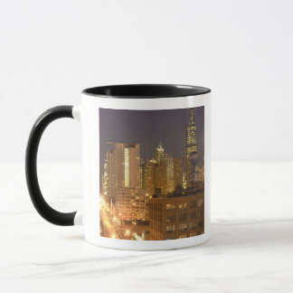 Chicago, Illinois, Skyline from West Loop at Mug