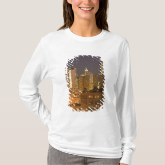 Chicago, Illinois, Skyline from West Loop at T-Shirt