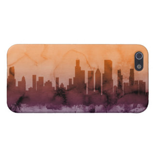 Chicago Illinois Skyline Case For iPhone 5/5S