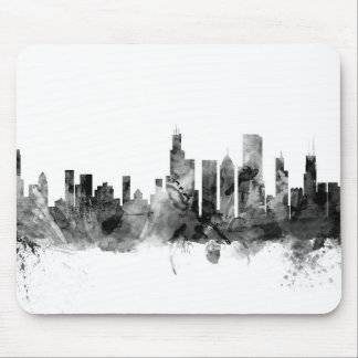 Chicago Illinois Skyline Mouse Pad