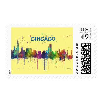 CHICAGO, ILLINOIS SKYLINE POSTAGE