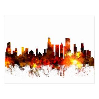 Chicago Illinois Skyline Postcard