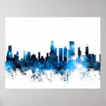 Chicago Illinois Skyline Posters