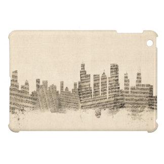 Chicago Illinois Skyline Sheet Music Cityscape Cover For The iPad Mini