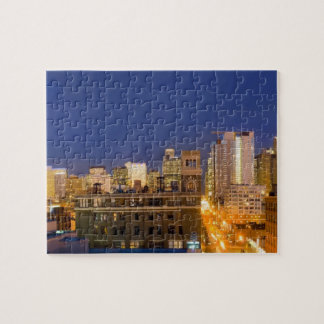 Chicago, Illinois, skyline shot from West Loop Jigsaw Puzzle