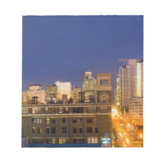 Chicago, Illinois, skyline shot from West Loop Notepad
