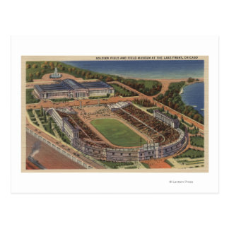 Chicago, Illinois - Soldiers Field and Field Postcard