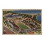 Chicago, Illinois - Soldiers Field and Field Poster