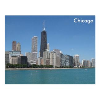 Chicago, Illinois Tarjeta Postal