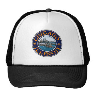 Chicago Illinois Trucker Hat