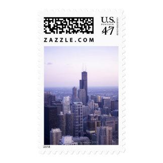 Chicago, Illinois, USA 2 Postage