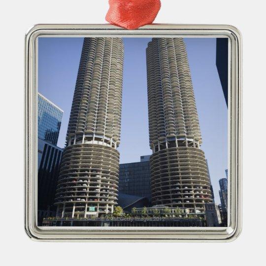 Chicago, Illinois, USA Metal Ornament