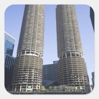 Chicago, Illinois, USA Square Sticker