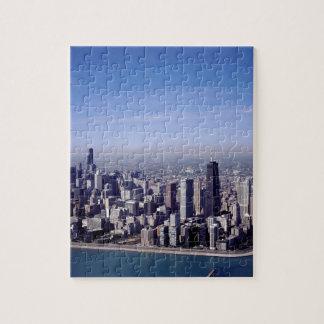 Chicago Illinois Windy City Park Buildings Destiny Puzzles
