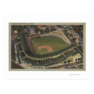Chicago, Illinois - Wrigley coloca Cubs Postales