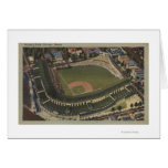 Chicago, Illinois - Wrigley Field Cubs Greeting Card