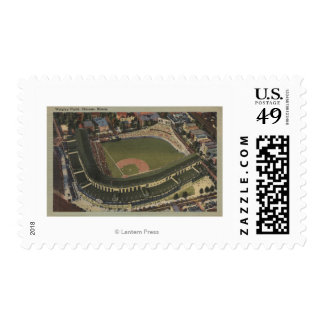 Chicago, Illinois - Wrigley Field Cubs Postage