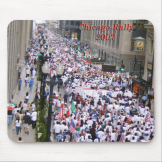 Chicago Immigrant Rally Mouse Pads