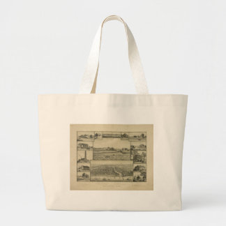 Chicago in Early Days 1779-1857 Large Tote Bag