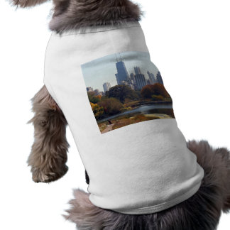 Chicago In The Fall Tee