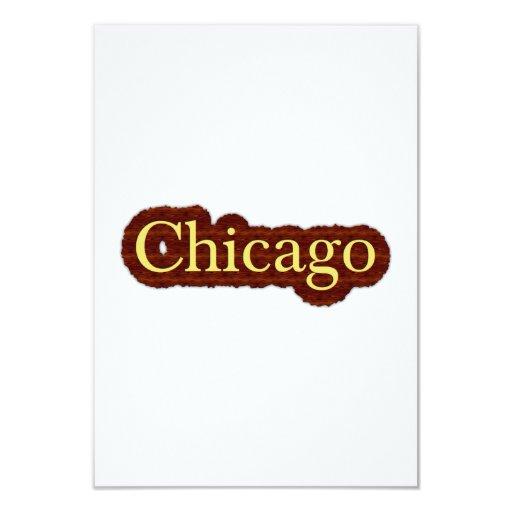 Chicago Invitación