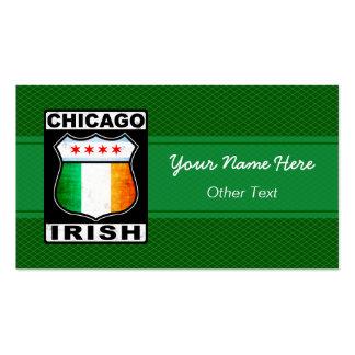 Chicago Irish American Custom Business Cards