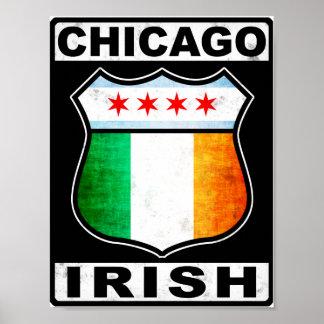 Chicago Irish American Poster
