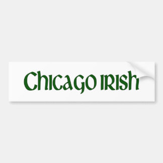 Chicago Irish Bumper Sticker
