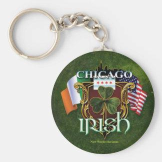 Chicago Irish Keychains