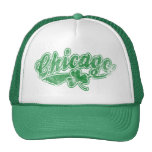 Chicago Irish Shamrock Trucker Hat