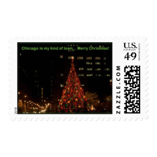 Chicago is my kind of town postage