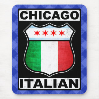 Chicago Italian American Mousemat Mouse Pad