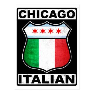 Chicago Italian American Postcard