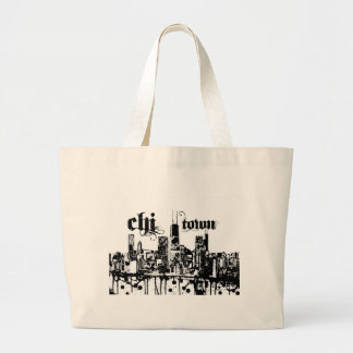 """Chicago """"ji-ciudad"""" puso para su ciudad bolsa de mano"""
