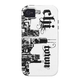 """Chicago """"ji-ciudad"""" puso para su ciudad vibe iPhone 4 fundas"""