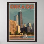 Chicago - John Hancock Center Posters