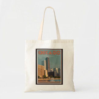 Chicago - John Hancock Center Tote Bag