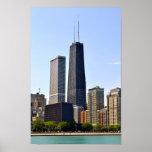 Chicago Juan Hancock Posters