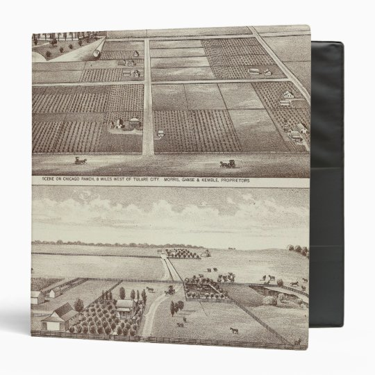 Chicago, Kay ranches 3 Ring Binder