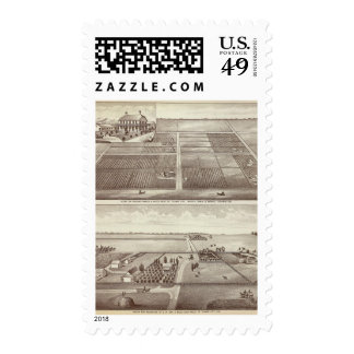 Chicago, Kay ranches Postage