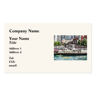 Chicago - Kayaking on the Chicago River Business Card
