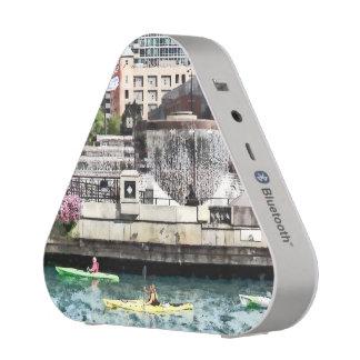 Chicago - Kayaking on the Chicago River Bluetooth Speaker