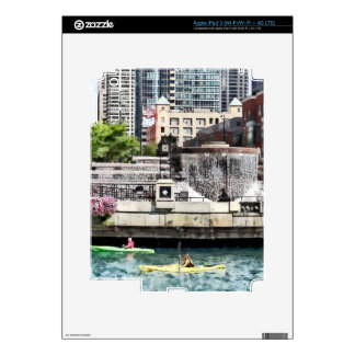 Chicago - Kayaking on the Chicago River Skins For iPad 3