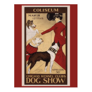 Chicago Kennel Club Postcard